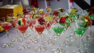 Tiệc cocktail trong sự kiện