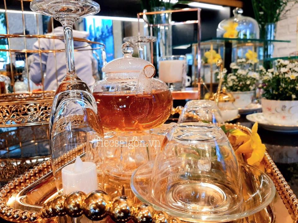 thực đơn tiệc trà