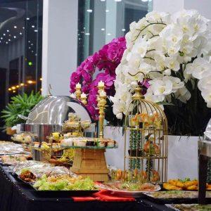 tổ chức tiệc buffet tại nhà